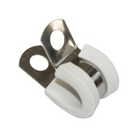 3/8 Tubing S.Steel Clamp - WHITE-0