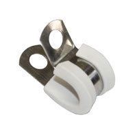 5 mm Tubing S.Steel Clamp - WHITE-0