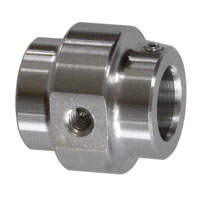 10 mm NOZZLE FITTING S.S. - 2 HOLES-0